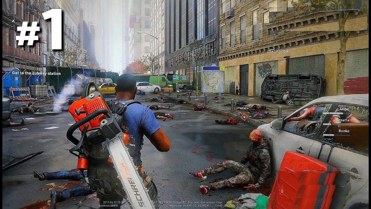 World War Z Exclusive Gameplay Walkthrough Part 1 Full