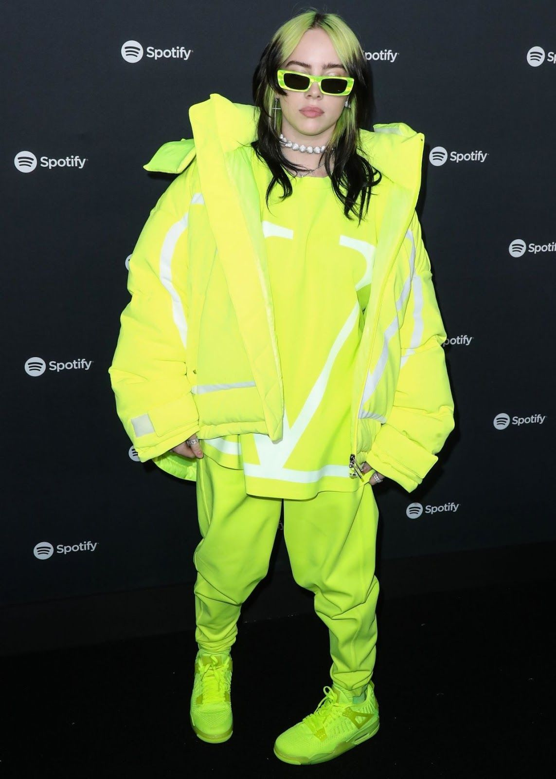 Billie eilish spotify best new artist 2020 party in la
