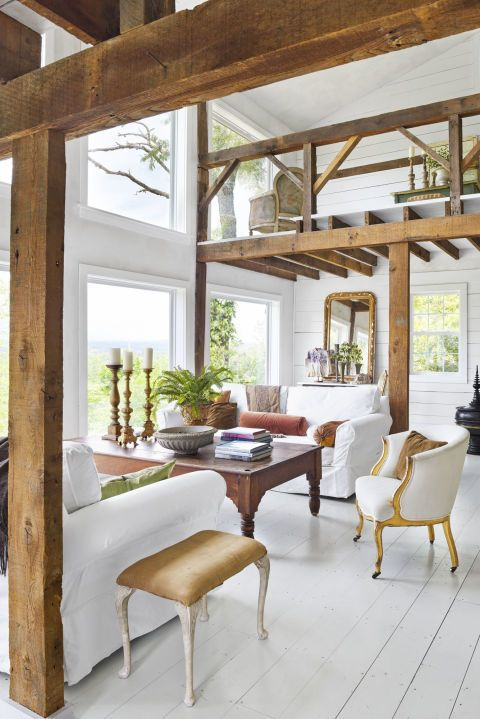 White Country Living Room Decorating Ideas: 30 Ways To Decorate Your Living Room With White