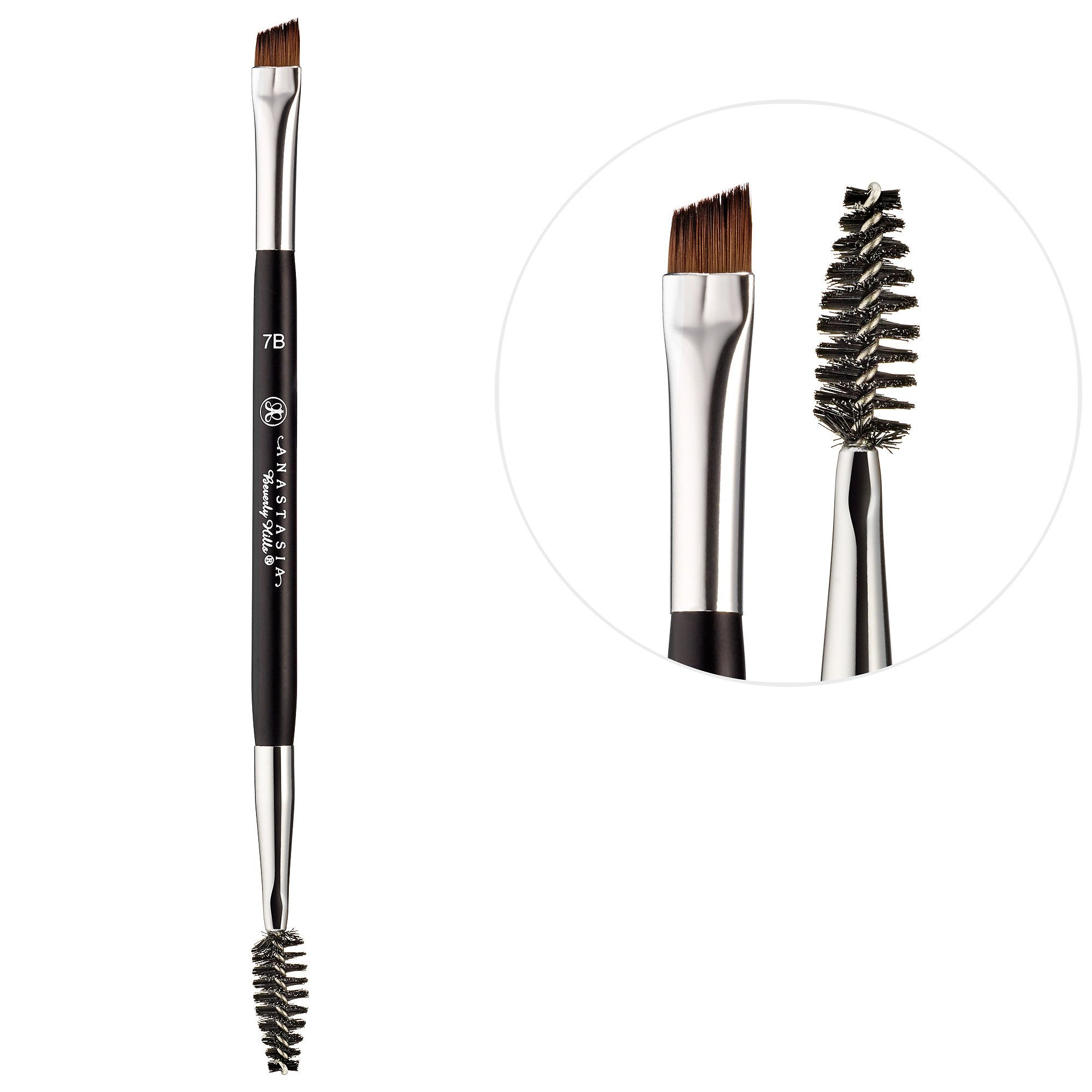 d127cafbaa0 Shop Anastasia Beverly Hills' Brush #7B at Sephora. The flat, angled brow  brush mimics real hairs to precisely sweep on color.