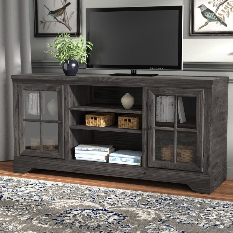 Zurich Tv Stand For Tvs Up To 75 Rustic Entertainment Center