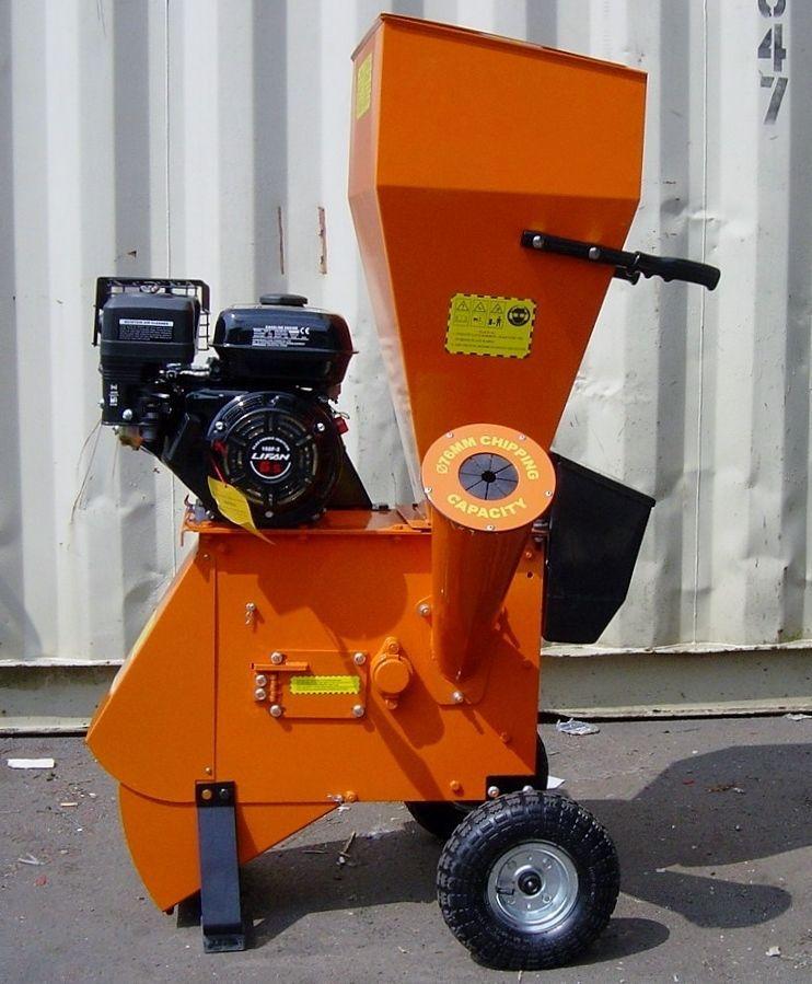 FYS-76 6.5Hp PETROL WOOD CHIPPER GARDEN SHREDDER CHIPPER MULCHER
