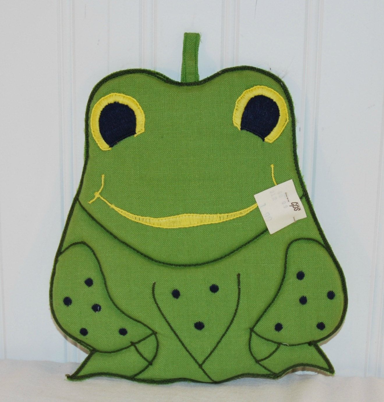 Vintage Adorable Green Frog Fabric Potholder (c. 1980) Kitchen Decor, Frog  Collectible, Cuteness Overload, Gift Idea, Repurpose, Upcycle