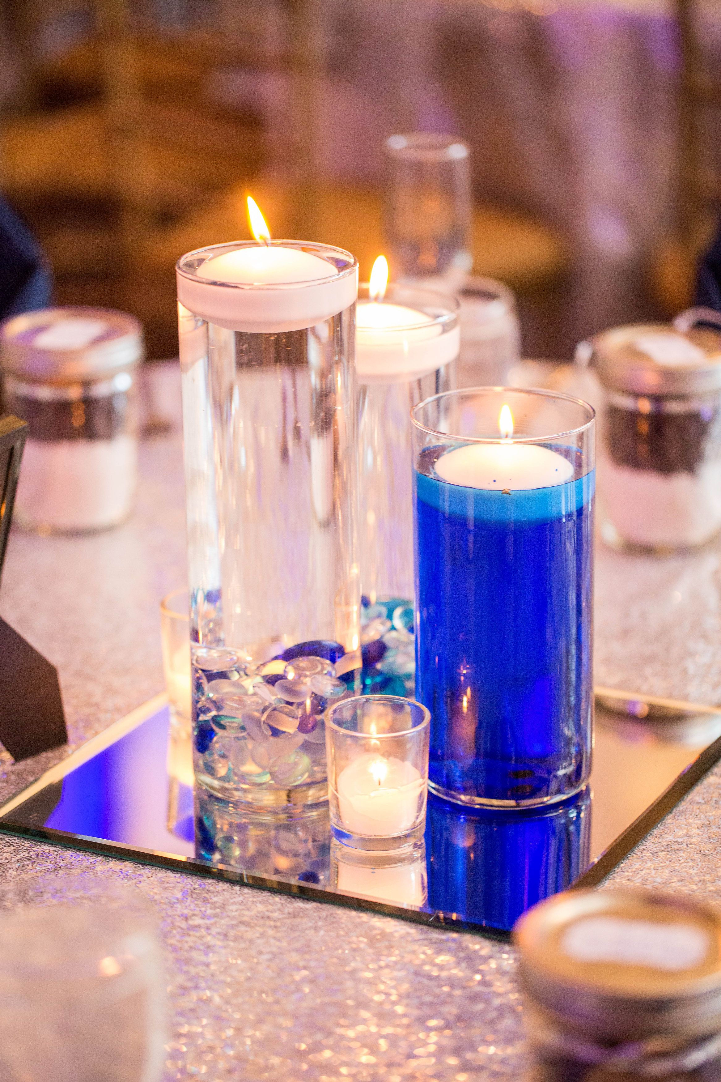 Frozen Themed Centerpieces - Winter Wedding Centerpieces