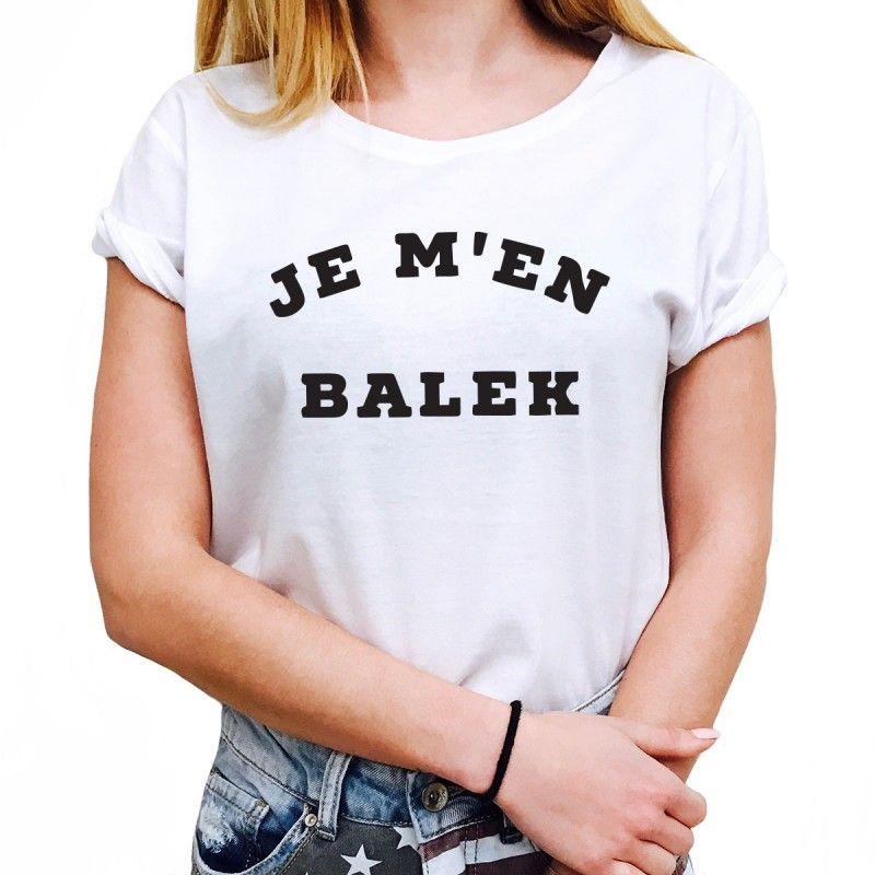 T-shirt Femme JE M EN BALEK - LUXE FOR LIFE De Paris   Bijoux de ... 30786829ce3e