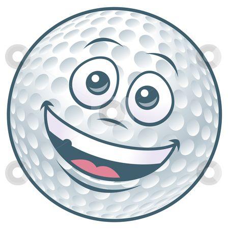 golf clip art free downloads cartoon golf ball character stock
