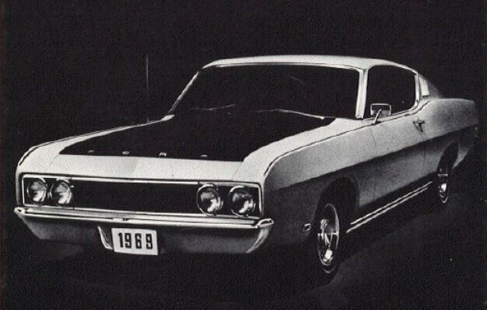 The Aero Wars Come To Ford Dealerships The  Ford Torino Talladega
