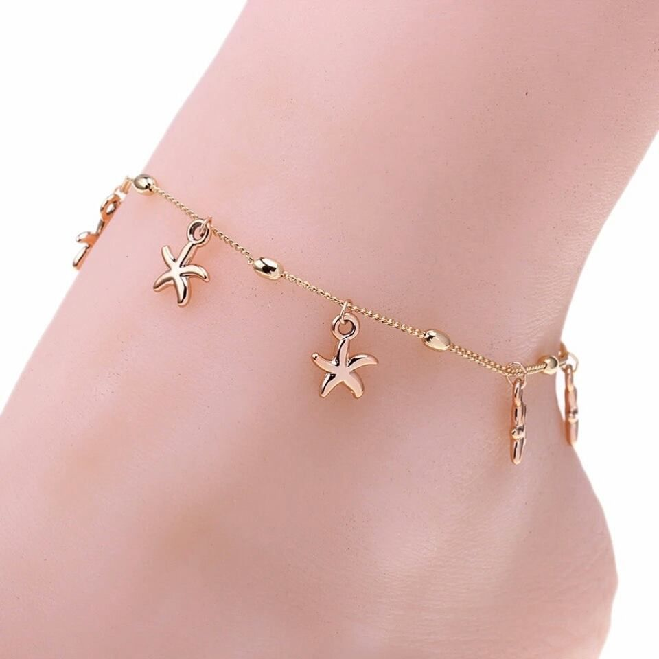49 Highly Incredible Anklet Chain Designs For Stunning Beautiful ...