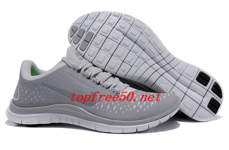 new arrival d7e82 a5ab1 ... shop 42j5au wolf grey reflective silver pure platinum nike free 3.0 v4  mens running shoes 5d566 ...