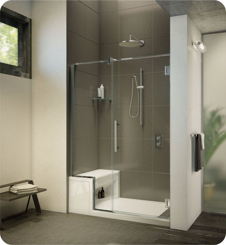 Fleurco TJNA57 Titan Cronos in Line Door and Panel with Wall Mount ...