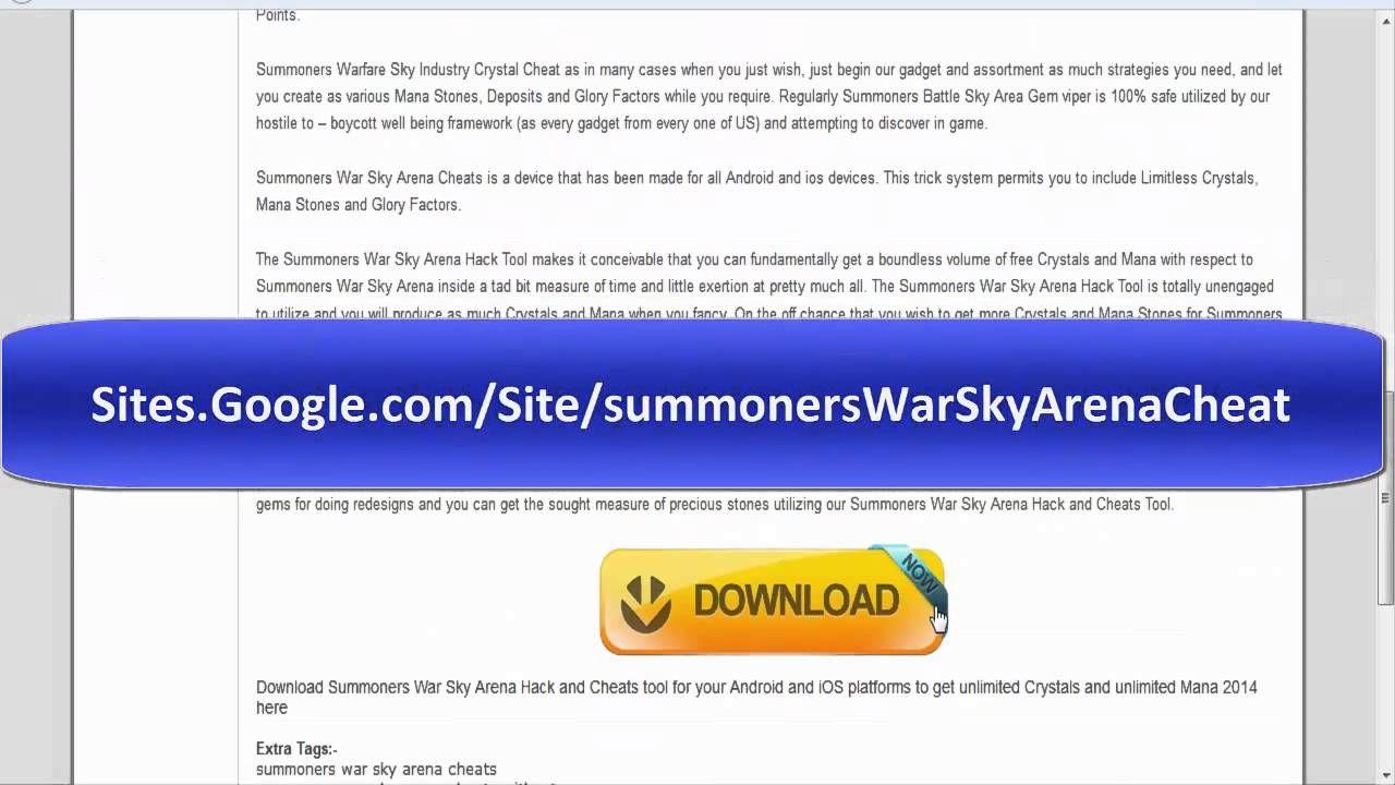 summoners war sky arena hacks