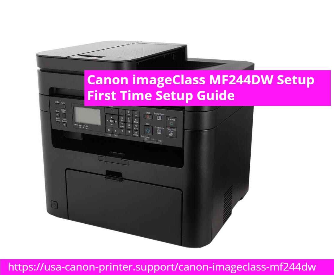 Canon imageClass MF20DW Setup   First Time Setup Guide ...