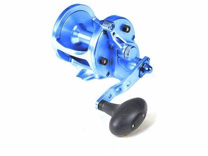 Avet LX 6 0 Single Speed Sailfish Cam Reel - Blue #pennreels