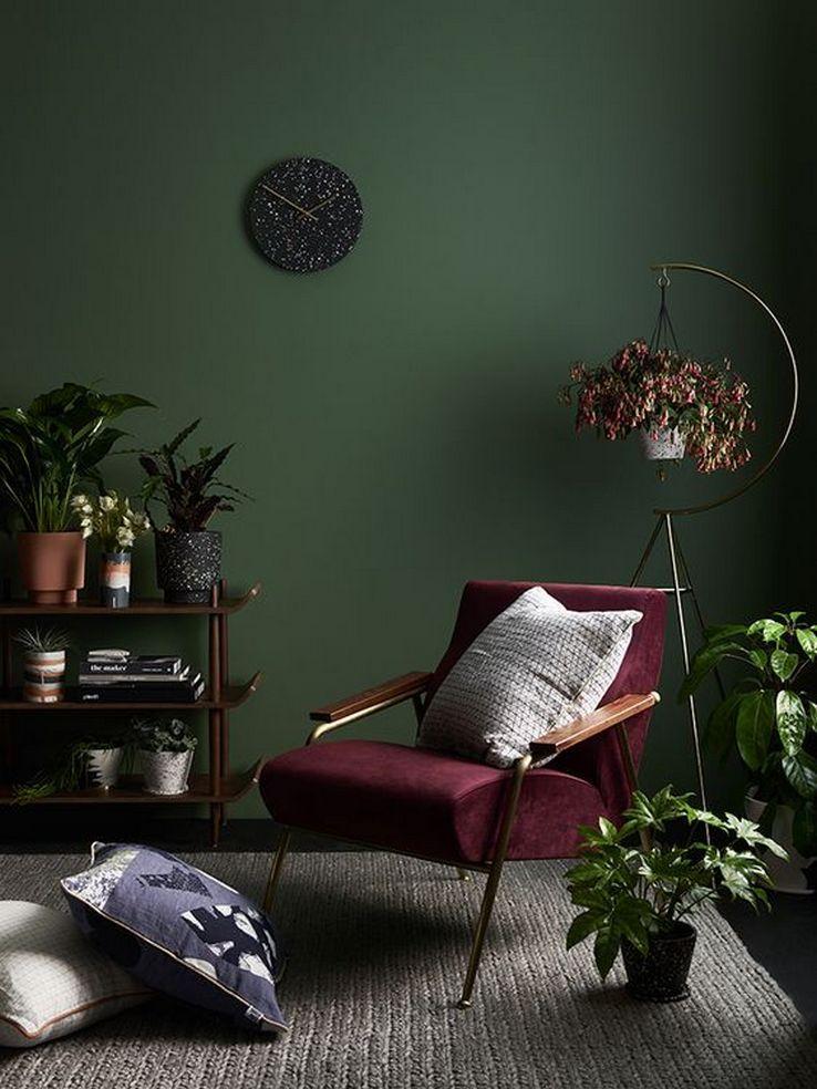 76 The Most Popular Green Living Room Wall Decorating Ideas 20 Green Walls Living Room Living Room Green Green Interior Decor