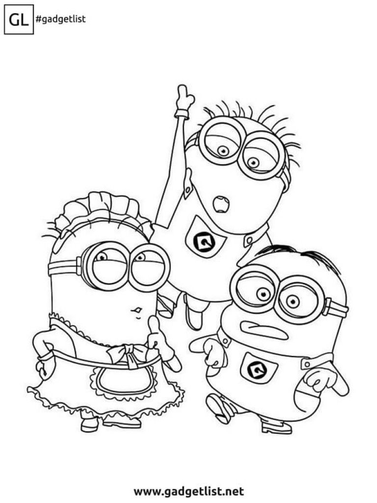 disegni da colorare per bambini minion | Disegni da ...