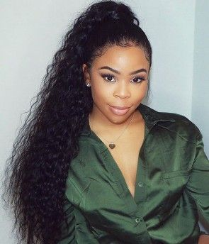 Thriving Hair CLEARANCE SALE Loose Curly Silk Top Full Lace Human Hair Wigs Glueless Human Hair Wigs With Baby Hair For Black Women