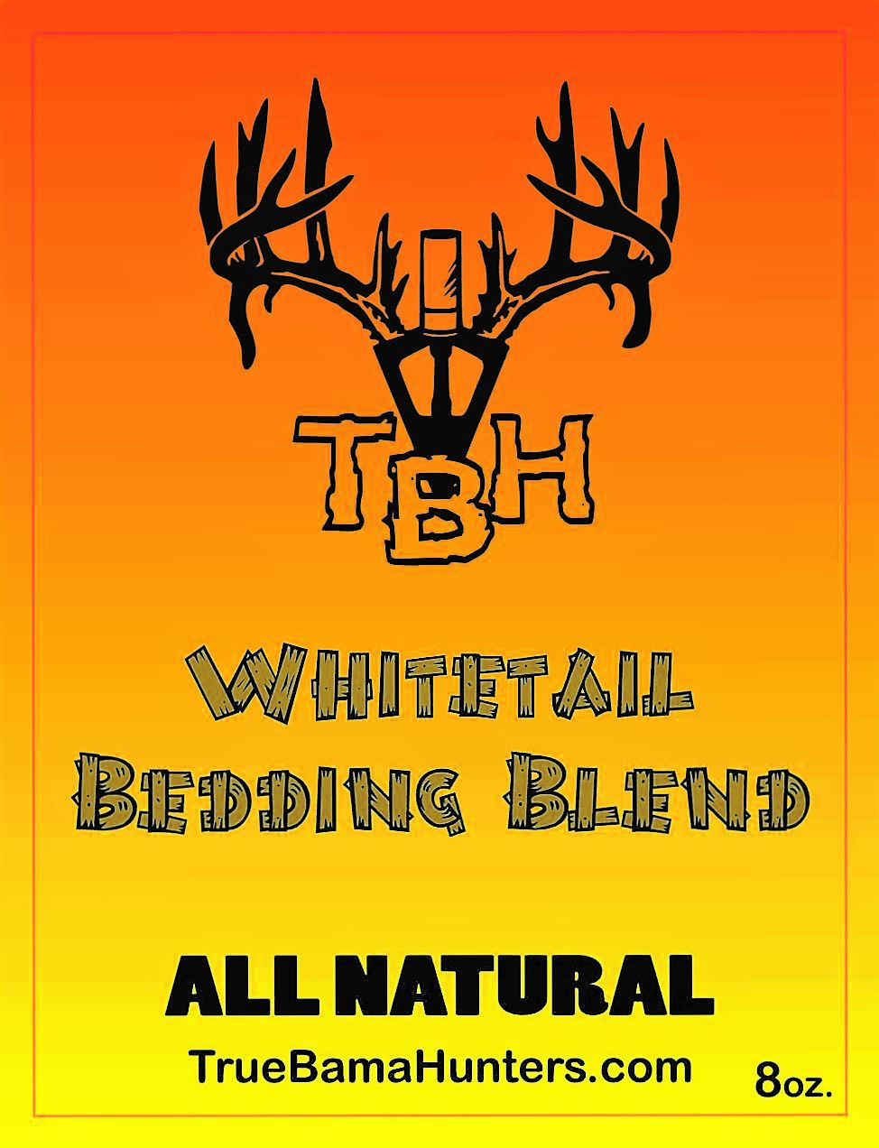 Whitetail Bedding Cover Scent Gallon Alabama deer
