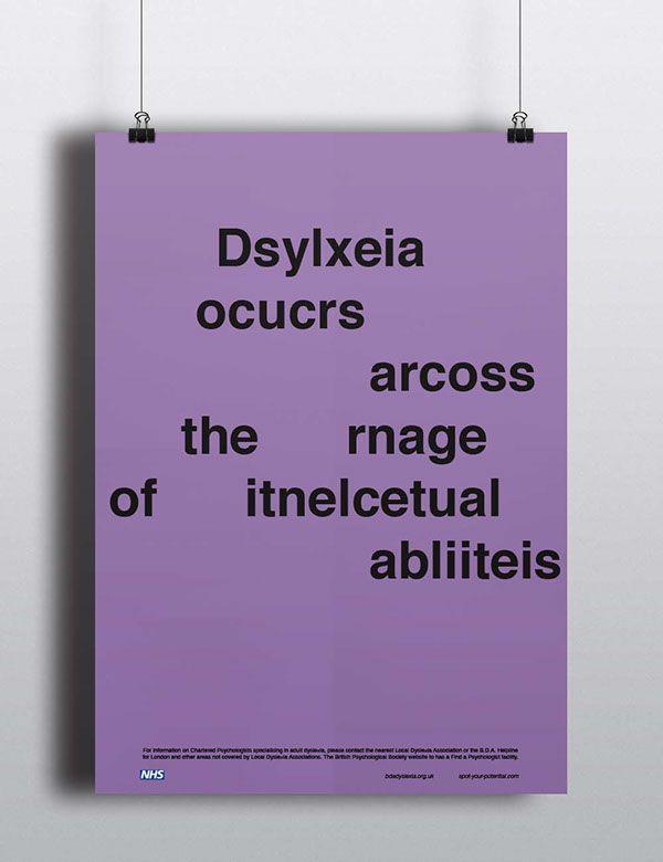 Dyslexia Awareness Campaign Upcoming >> Dyslexia Awareness Campaign On Behance Awareness Campaign