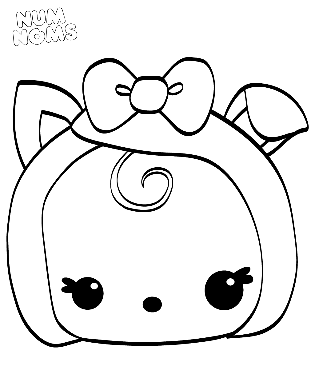 Num Noms Coloring Pages Becca Bacon Cartoon Coloring Pages Cute Coloring Pages Coloring Pages