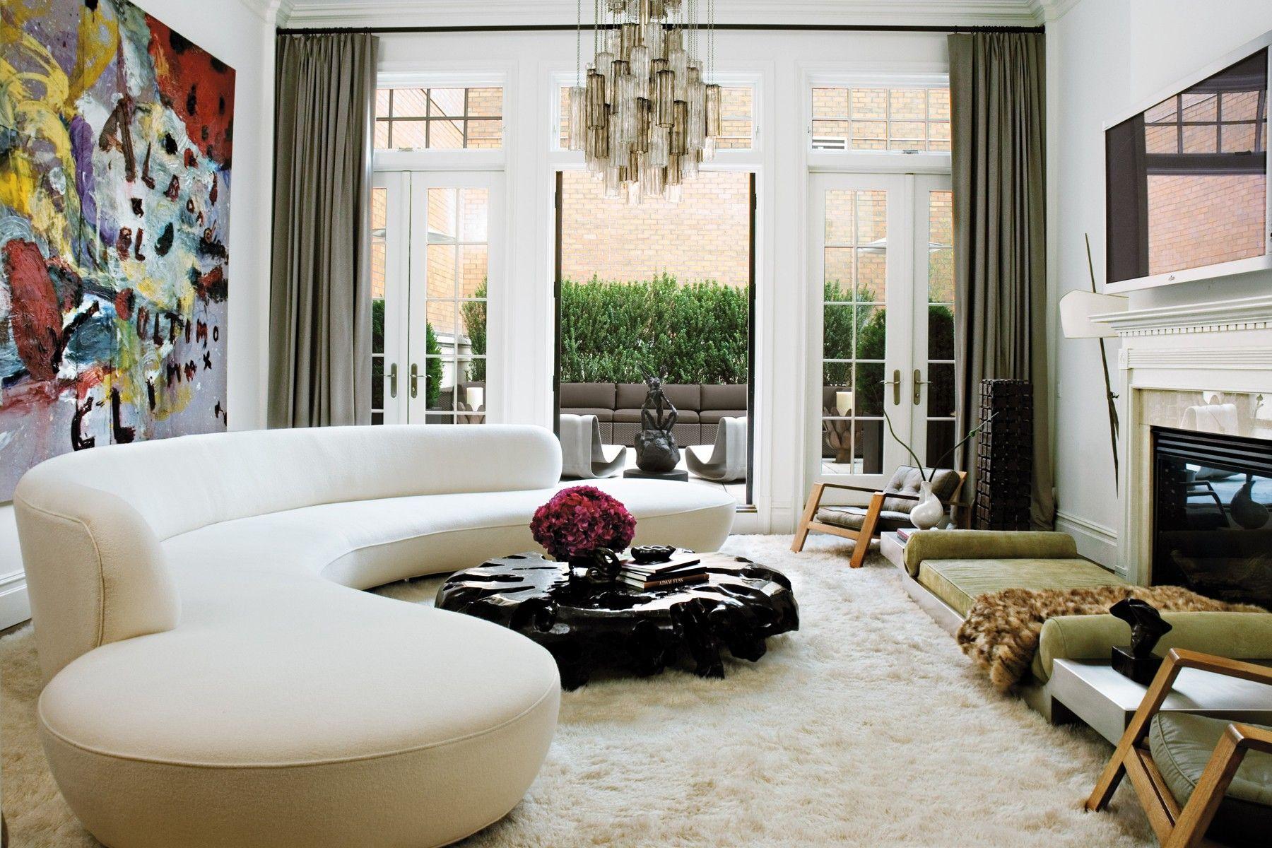 Official Vladimir Kagan Website Chic Living Room Home Decor