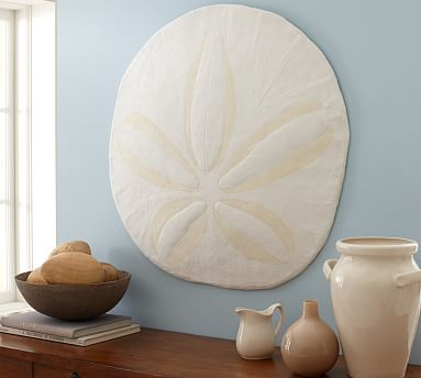 Photo of Oversized Sand Dollar Wall Art – 30″W