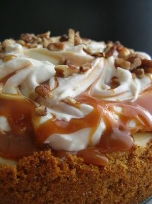 candy and caramel apple pie!