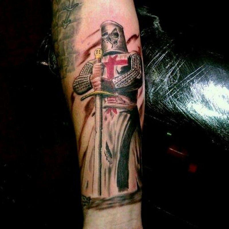 15++ Stunning Knights templar tattoo designs ideas