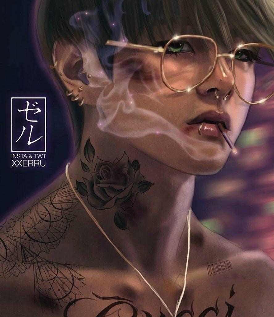 Taekook Tattoo: Pin By злой гномик On Bts Edit In 2019