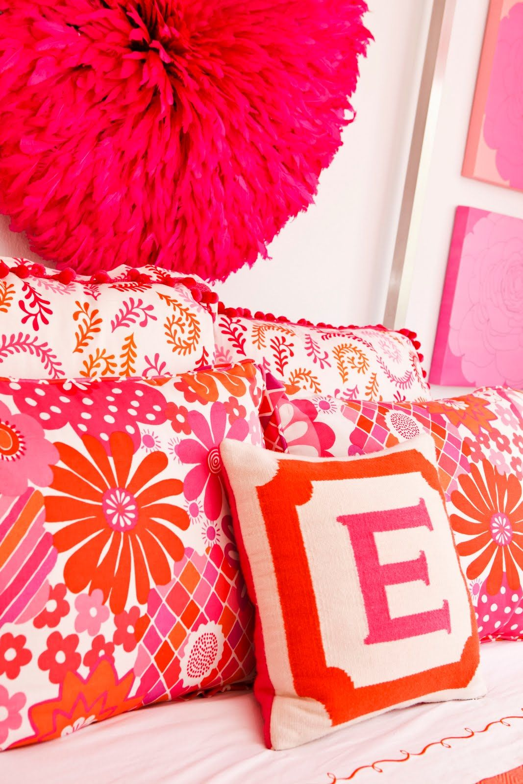 Love these colors. Such a sweet Jonathan Adler design it yourself ...