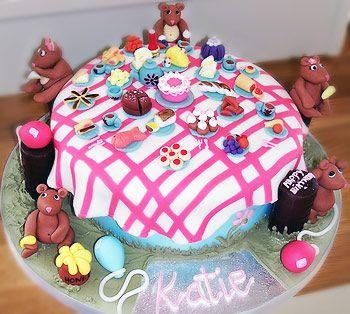 Goldilocks and the 3 bears Cake Party Cakes Ideas Pinterest