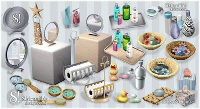 Bathroom Clutter Dw Sims 3 Interior Design Pinterest