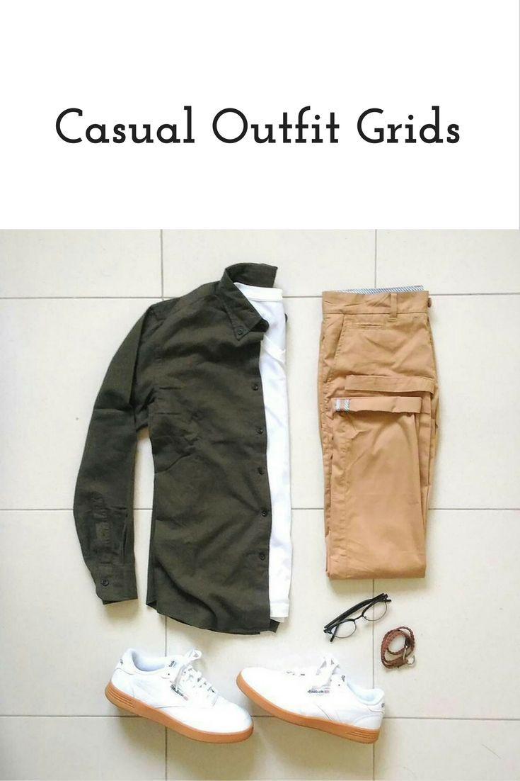 26 Coolest Casual Outfit Grids For Men in 2019