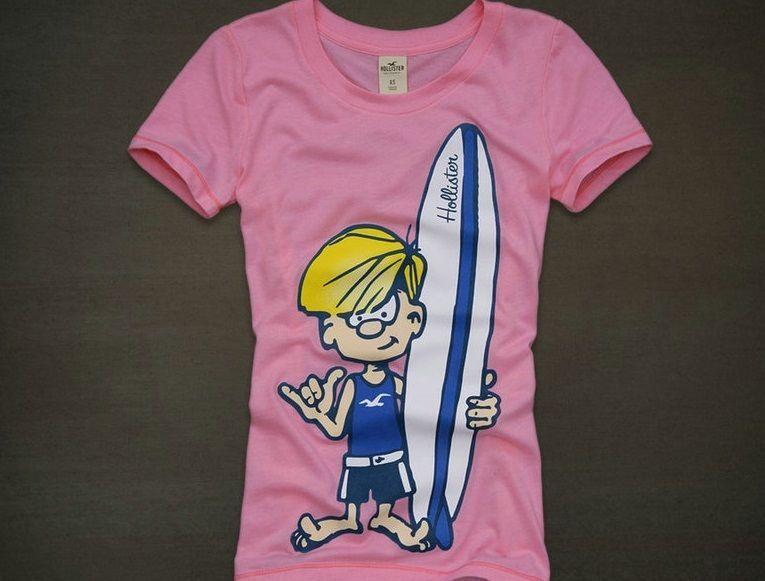 Hollister Pink S S Surfer Boy Shirt Girl 39 S Large New