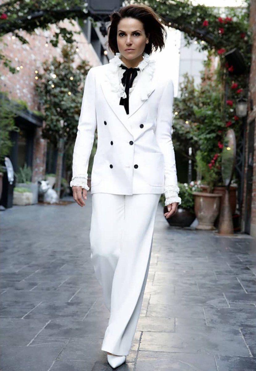 Celebrity Cutouts Lana Parrilla Black Suit Grandeur Nature