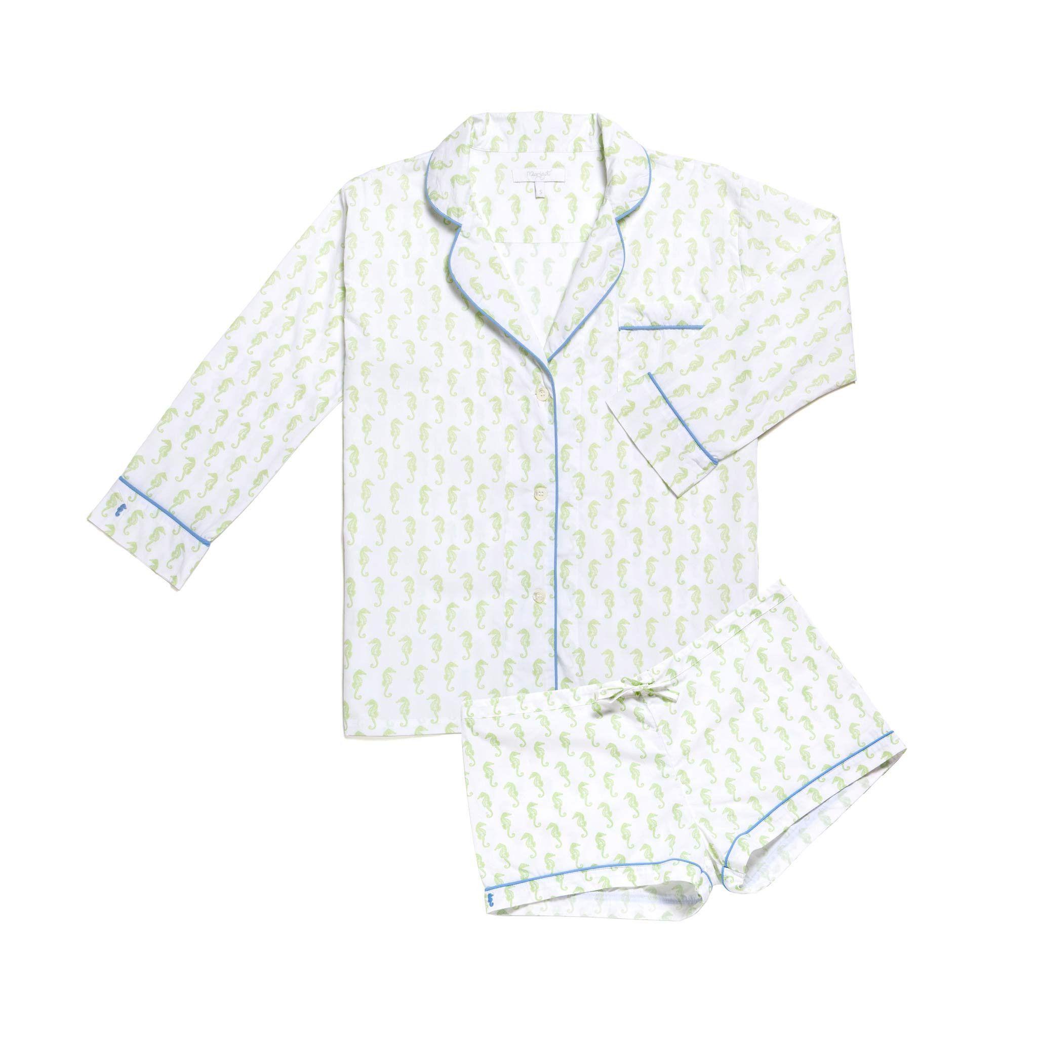 Lorient Block Print Short Pajama Set  2a44d2458