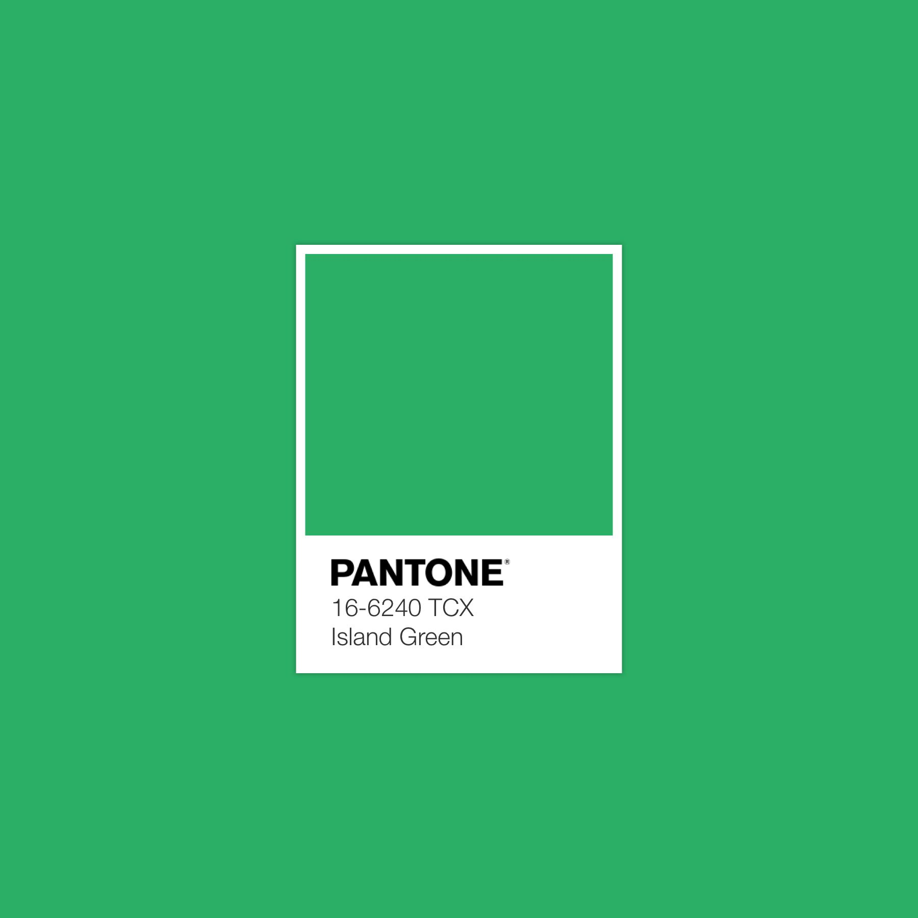 Islandgreen Pantone Luxurydotcom Island Green Color Islands