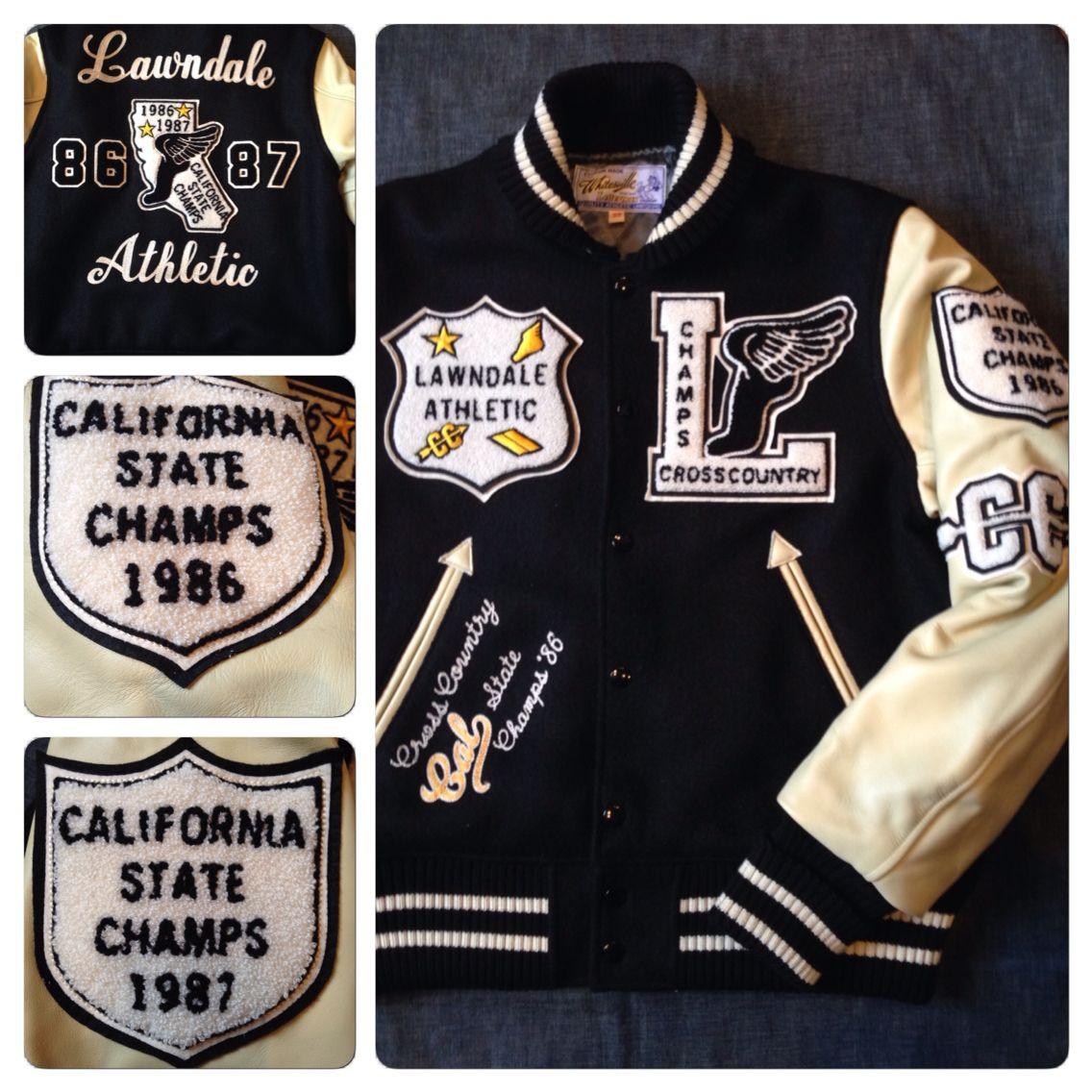 """ホワイツビルからアワードジャケットの""""LAWNDALE ATHLETIC""""が入荷しました。本体価格¥59,000"""