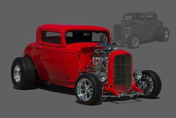 Hot Rod Wall Art - Photograph - 1932 Ford Coupe by Tim McCullough