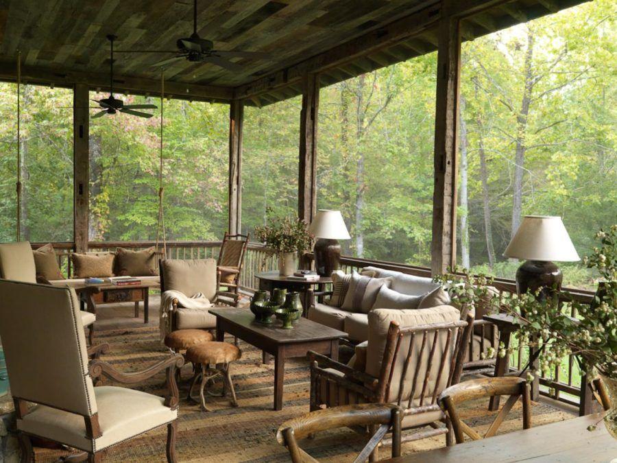 15 Super Simple Back Porch Ideas Back Porch Designs House With
