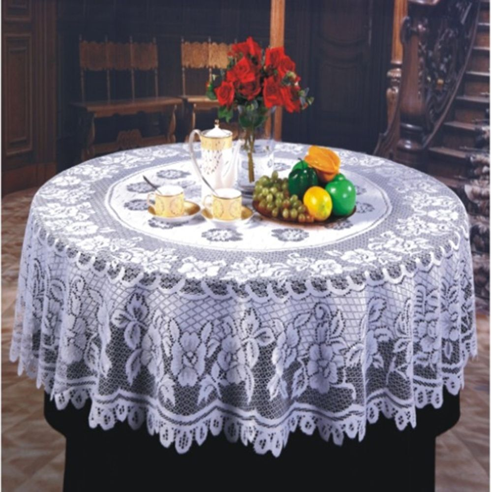 Small Round Decorative Tablecloths