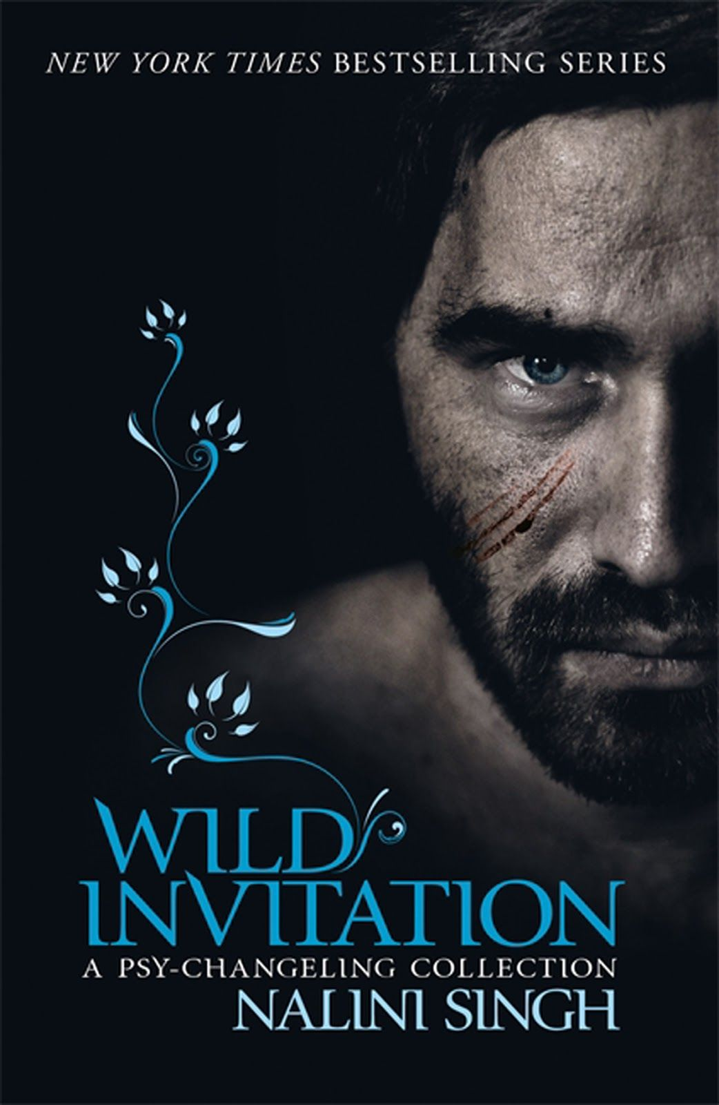 UK cover of Wild Invitation, this is a collection of short stories set in the psy-changeling series