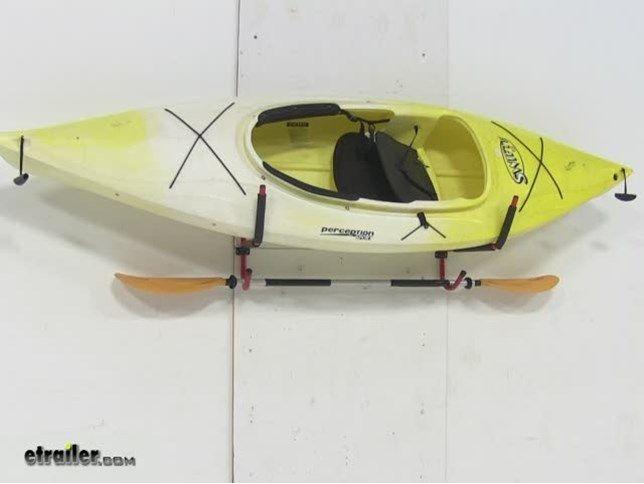 Superbe Gear Up Deluxe Wall Mount Folding Kayak Storage Rack   100 Lbs Gear Up  Watersport Carriers GU44012