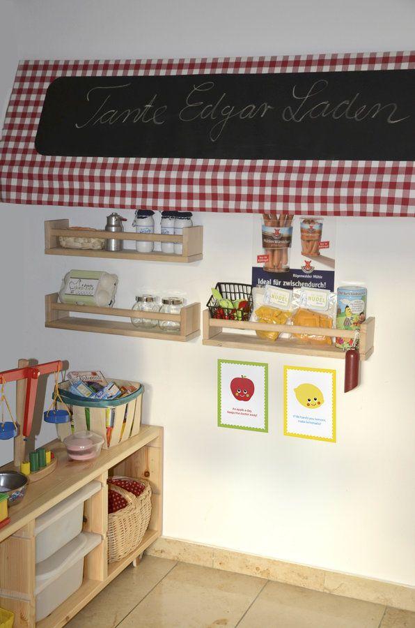 Unser Kaufmannsladen Tageskinder Pinterest Playroom Room Und