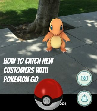 Players are so obsessed with catching new #Pokemon, they'll do almost anything to find one and businesses are now using that obsession to catch new customers who are on the hunt.