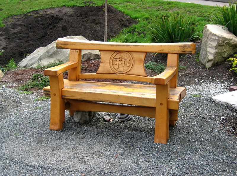 japanese patio furniture. Japanese Timber Bench | TRC Timberworks Patio Furniture A