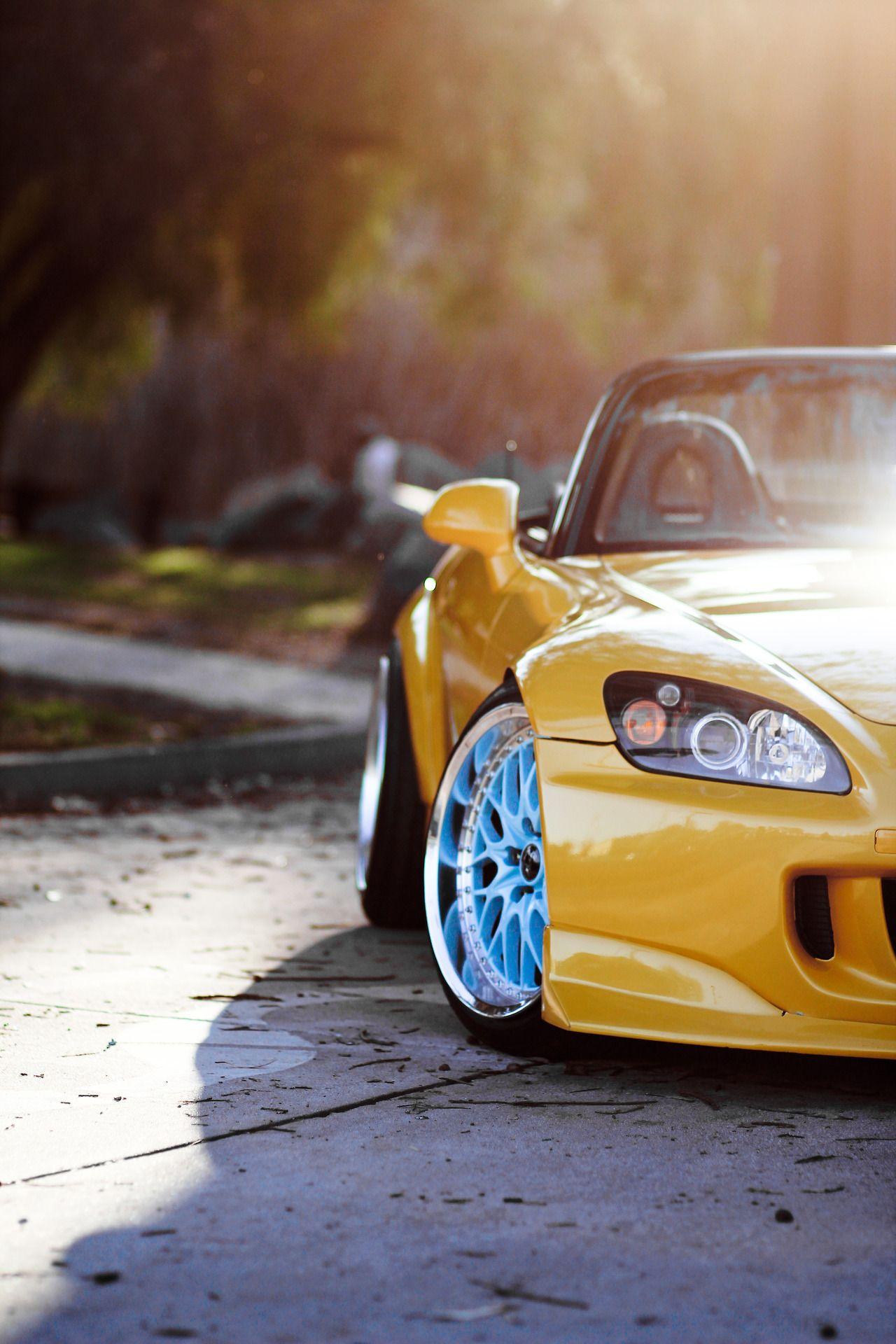 Imgflickr yellow sport car imgflickr brake repair for Honda northern blvd