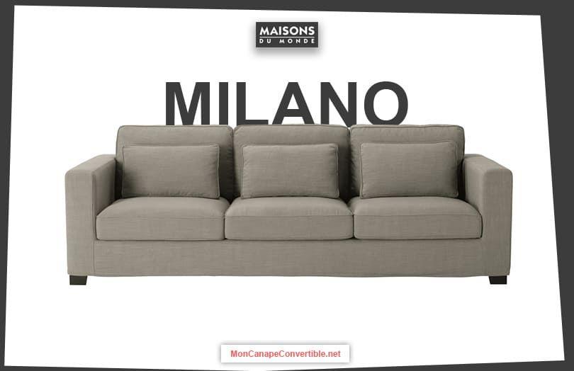 Avis Canape Milano De Maisons Du Monde Canape Maison Du Monde Maison Du Monde