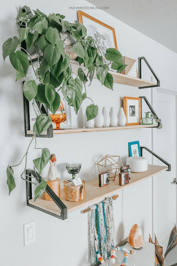 DIY EKBY LERBERG Bracket Ikea Hack + Master Bedroom