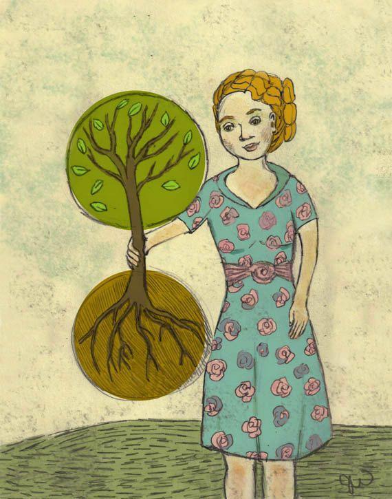 Art Print- Plant the Future...