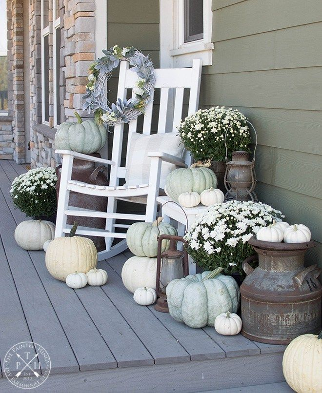 20 Amazing Front Porch Ideas You Must Try In 2018: The Farmhouse Friday Link Party #76